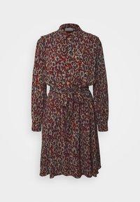 Fabienne Chapot - COUNTRY DRESS - Skjortekjole - rust/bordeaux - 4