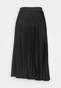 Dorothy Perkins Tall - PLEAT SKIRT - A-line skirt - black - 5