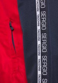 sergio tacchini - BELUSHI TRACKTOP - Training jacket - navy/red - 7