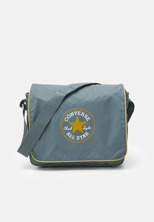 COATED RETRO MESSENGER UNISEX - Across body bag - grey