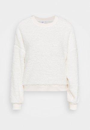 SHERPA CREW - Sweatshirt - milk