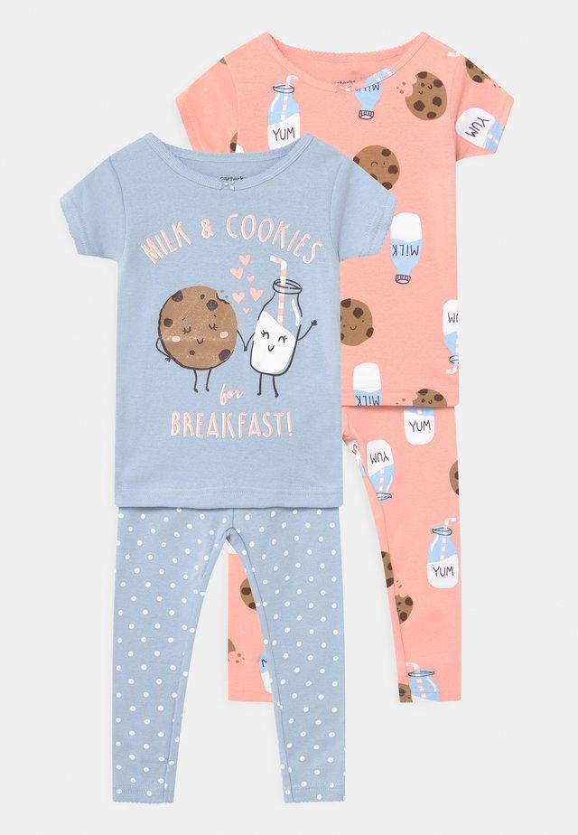 COOKIES 2 PACK - Pyjamas - light blue/light pink