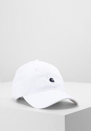 MADISON LOGO UNISEX - Caps - white/ink