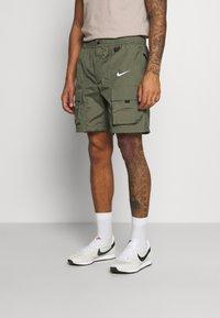 Nike Sportswear - Shorts - twilight marsh/silver - 0