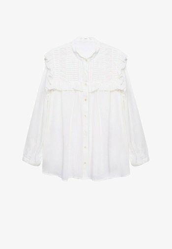 JULIETA - Button-down blouse - blanco roto