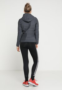 adidas Performance - VARILITY SOFT HOODED OUTDOOR DOWN JACKET - Winter jacket - carbon - 2