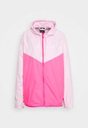 PLUS - Lehká bunda - pink foam/hyper pink/white