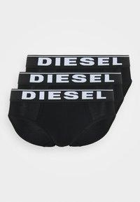 Diesel - BRIEF 3 PACK - Slip - black - 3