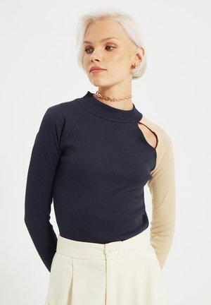 Camiseta de manga larga - navy blue