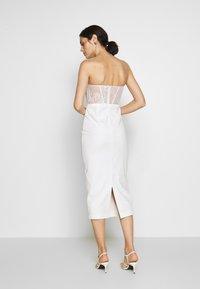 LEXI - KIRBY DRESS - Cocktail dress / Party dress - white - 2
