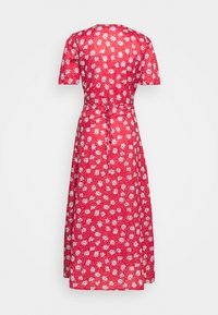 Missguided Tall - HALF BUTTON TEA DRESS - Maxi dress - red - 0