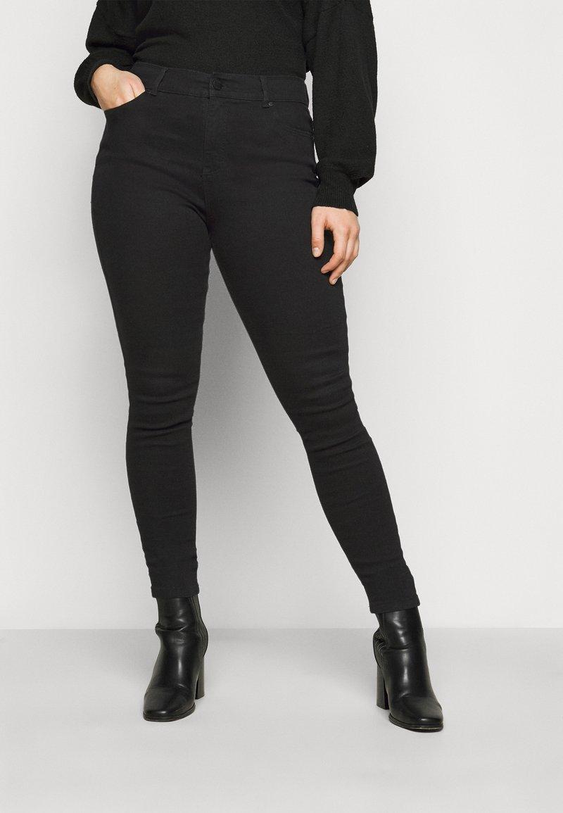 CAPSULE by Simply Be - Jeans Skinny Fit - black