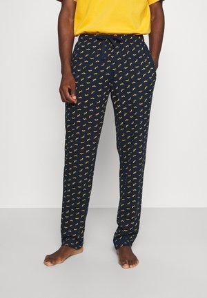 Pyžamový spodní díl - dark blue/mustard yellow