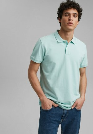Poloshirt - light aqua green