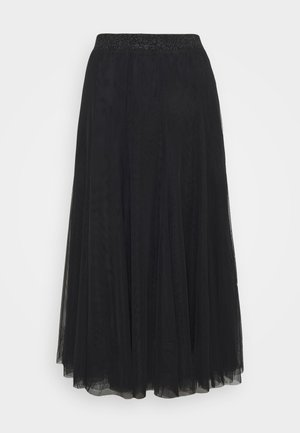 LALA ABBIE SKIRT - Pleated skirt - black