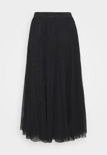 LALA ABBIE SKIRT - Pleated skirt - black