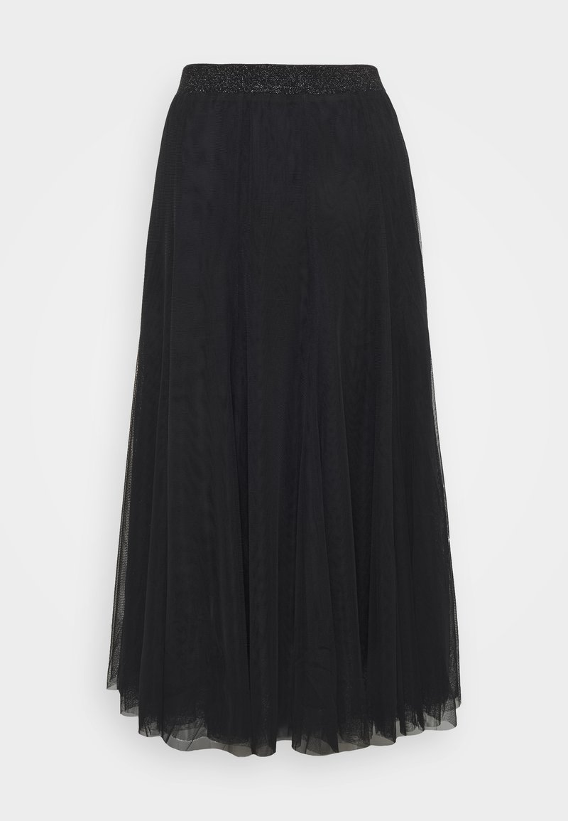 Bruuns Bazaar - LALA ABBIE SKIRT - Pleated skirt - black