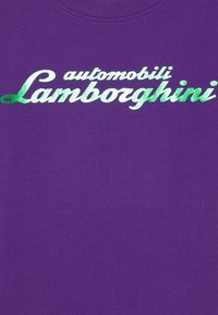Automobili Lamborghini Kidswear - LOGOSCRIPT - Print T-shirt - purple mel - 2
