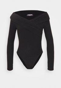 Fashion Union Petite - SWIFT - Long sleeved top - black - 3