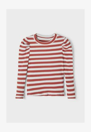 SLIM FIT - Long sleeved top - etruscan red