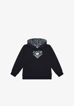 SWEET HEART MIT GROSSER KAPUZE - Sweater - steiff navy