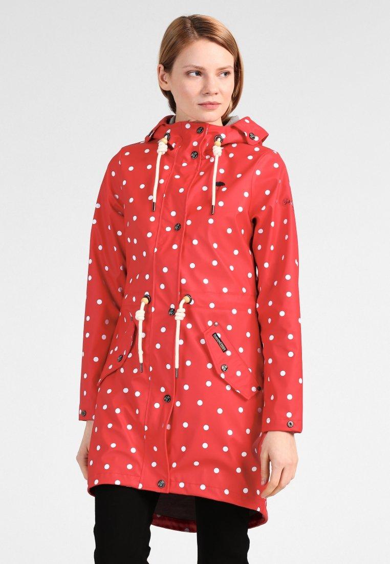 High Quality Women's Clothing Schmuddelwedda Parka red/white JStTtYFHn