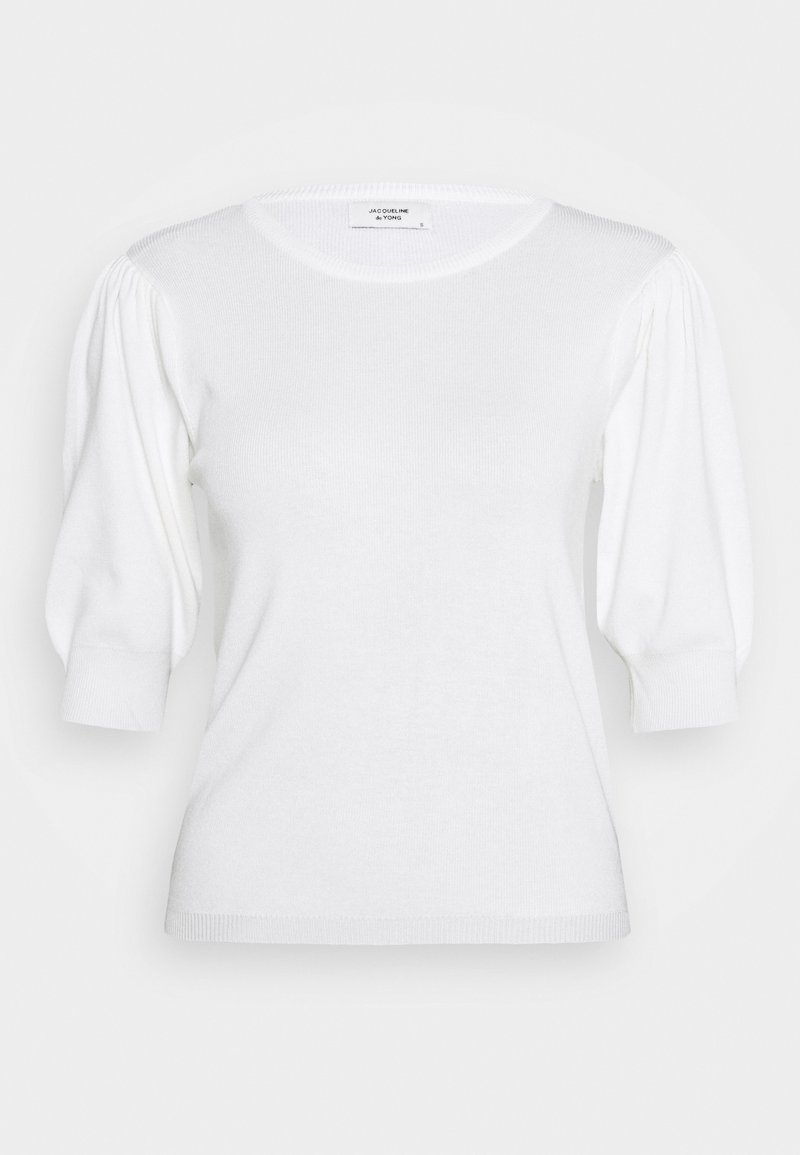 JDY JDYBRIDGET - T-Shirt basic - cloud dancer/offwhite O8LuwG