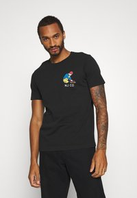 Nudie Jeans - ROY - T-shirt med print - black - 0