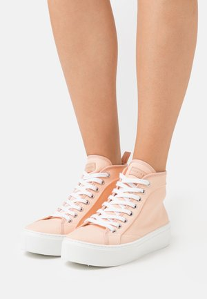 FOCUSED FLATFORM - High-top trainers - nude drench