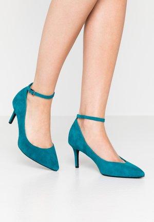 Czółenka - turquoise