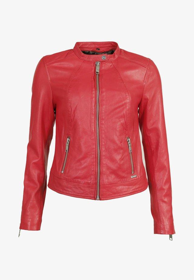 GRENADA - Leren jas - flame red