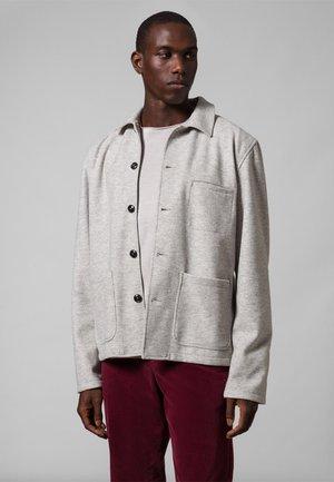 Summer jacket - sleet melange