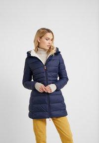 Save the duck - GIGA - Winter coat - blue black - 0