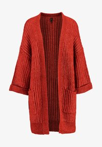 YAS Tall - YASSUNDAY CARDIGAN - Strikjakke /Cardigans - rooibos tea - 3