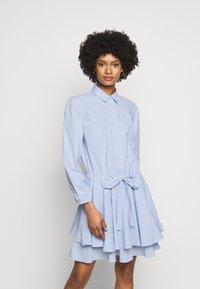 Steffen Schraut - BROOKE FANCY DRESS - Shirt dress - sky blue - 0