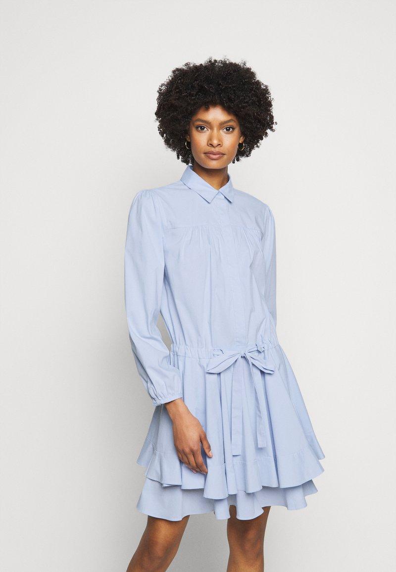 Steffen Schraut - BROOKE FANCY DRESS - Shirt dress - sky blue