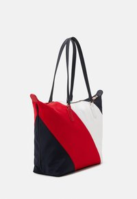 Tommy Hilfiger - POPPY TOTE STRIPES - Tote bag - blue - 1