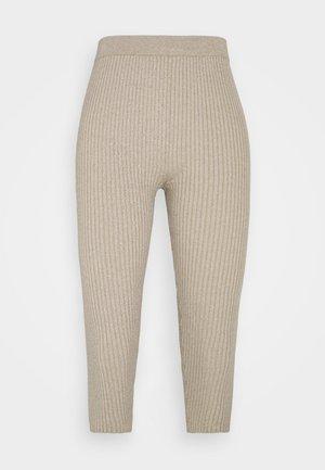 Pyjama bottoms - oatmelange