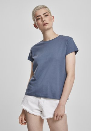 Basic T-shirt - vintageblue