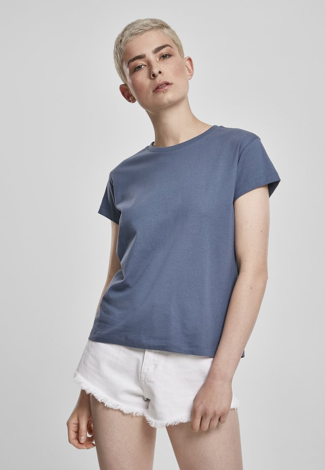 T-shirt basique - vintageblue