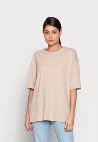 ARKET - T-shirt basique - beige - 0