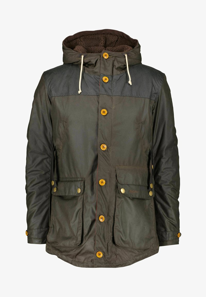Barbour - GAME WAXED - Parka - oliv