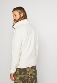 The North Face - MENS GLACIER 1/4 ZIP - Fleece jumper - vintage white - 2