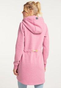 Schmuddelwedda - Zip-up hoodie - sorbetrot melange - 2