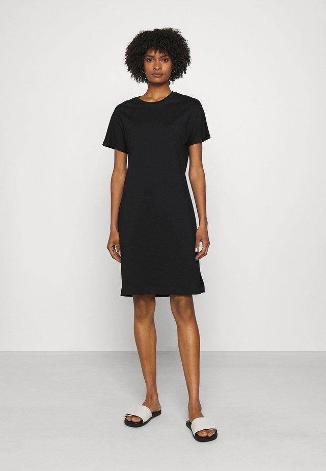 EFFIE DRESS - Robe en jersey - black