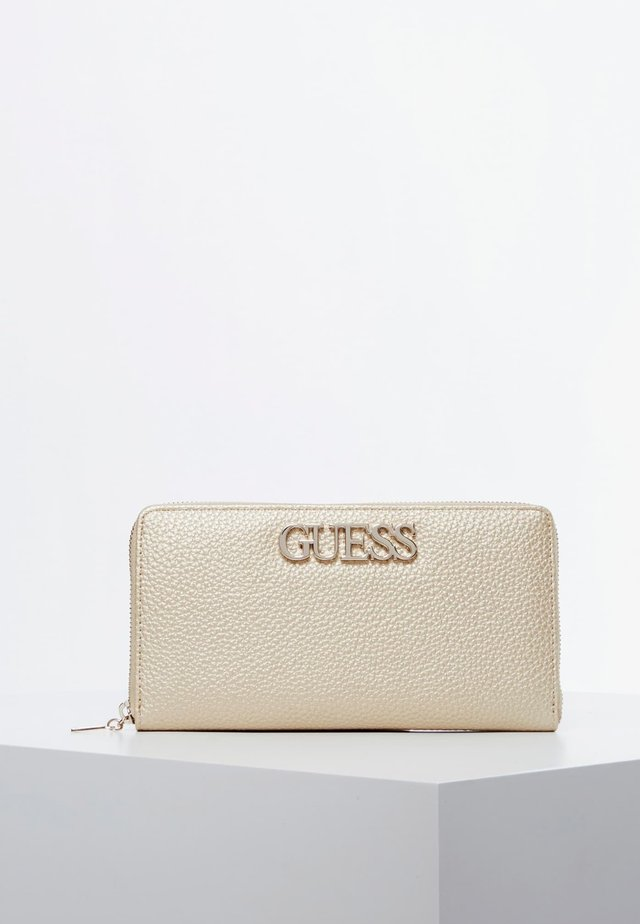 GUESS PORTEMONNAIE UPTOWN CHIC - Portefeuille - goldenfarbe