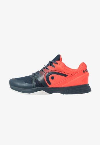SPRINT 2.5 CARPET MEN - Carpet court tennis shoes - navy