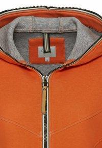 camel active - SCUBA - Zip-up hoodie - orange - 7