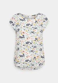 ONLY - ONLVIC - T-shirts med print - cloud dancer/kia ditsy - 3