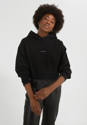 JOLA CROPPED - Sweatshirt - vintage black
